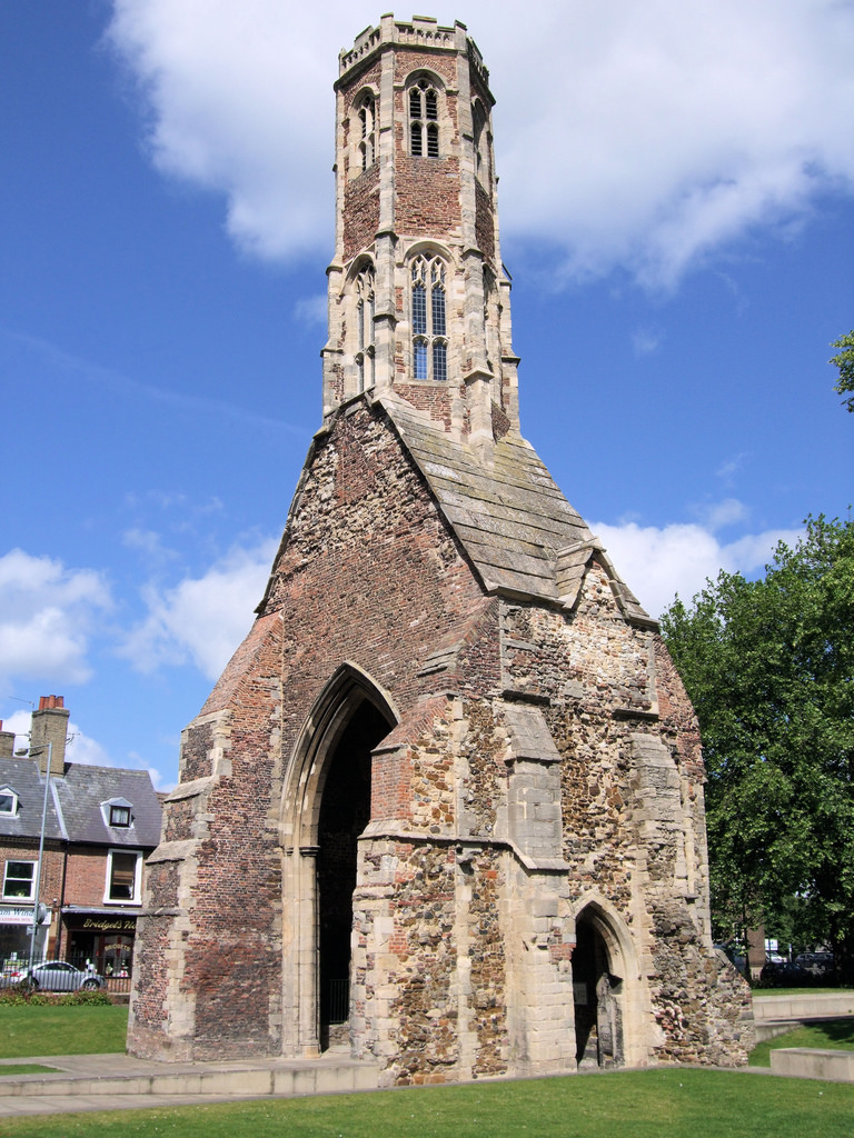 Greyfriar's Tower, King's Lynn - Norfolk by Jim Linwood, on Flickr