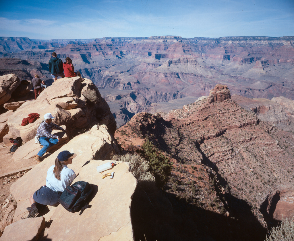 """444 """"Ooh Aah"""" Point - South Kaibab Trail by Grand Canyon NPS, on Flickr"""