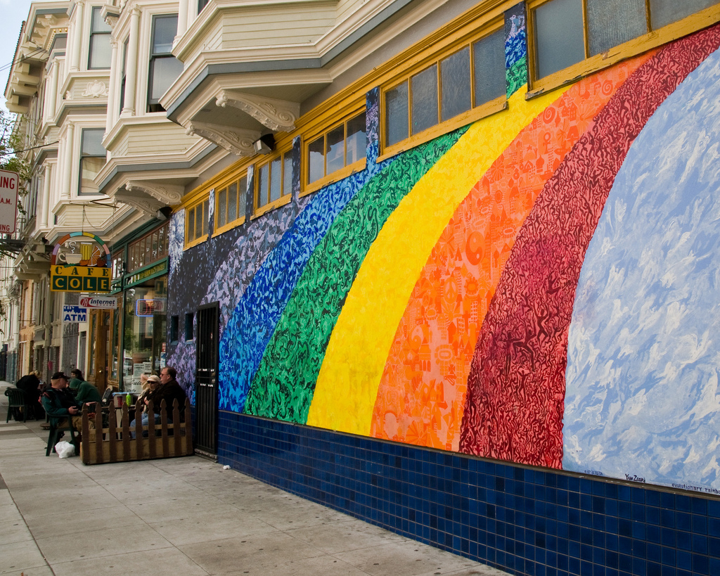 Rainbow Wall, San Francisco by Tony Fischer Photography, on Flickr