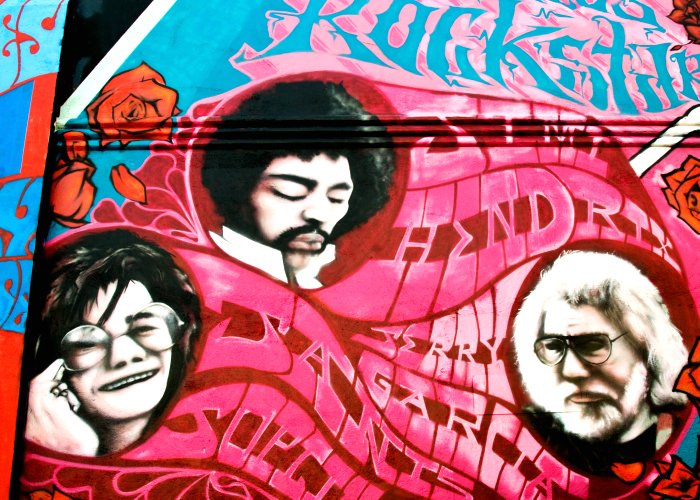 Psychedelic Haight Street Mural; Joplin, by Tony Fischer Photography, on Flickr