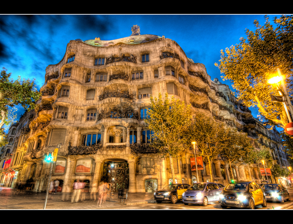 Casa Mila, La Pedrera, Barcelona by Craigyc, on Flickr