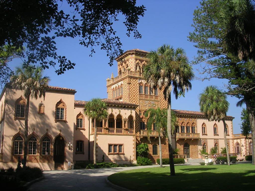 Ca d'Zan - John Ringling Mansion from Ea by roger4336, on Flickr