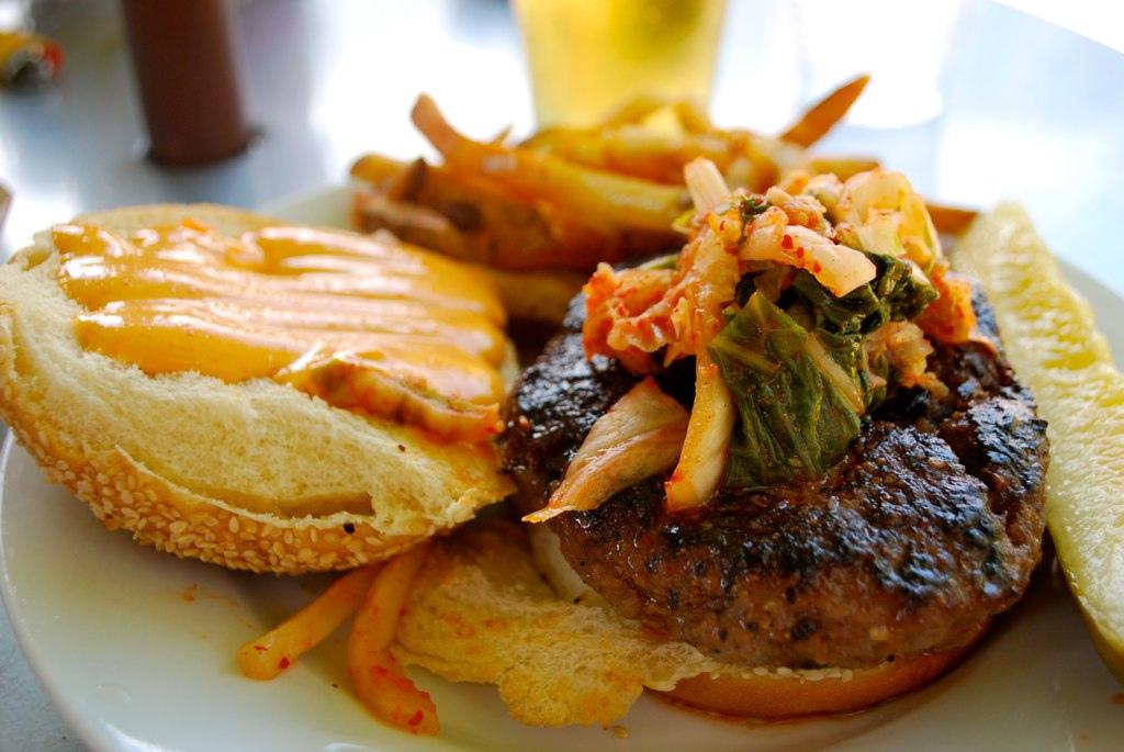 Korean short rib burger - PYT by Burger Baroness, on Flickr