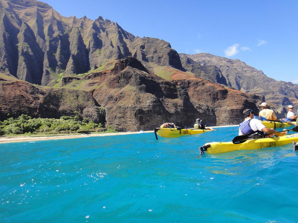 Na Pali sea Kayaking by kikmoyoo, on Flickr