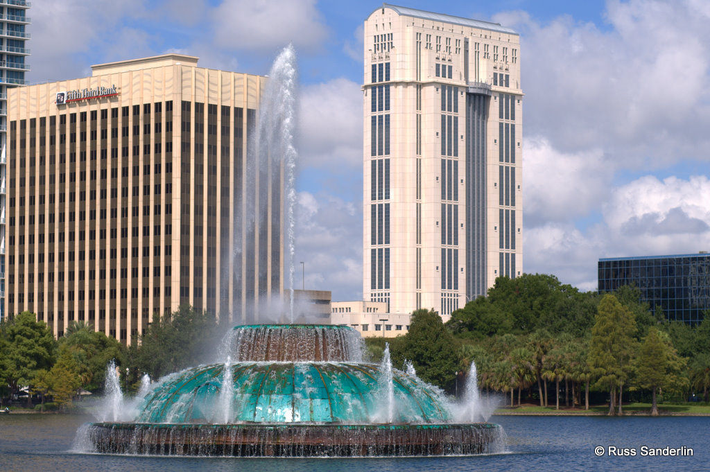 Lake Eola Fountain by Tearstone, on Flickr