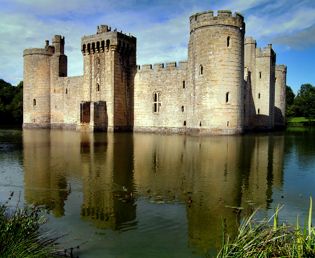 Bodiam Castle by Neilhooting, on Flickr