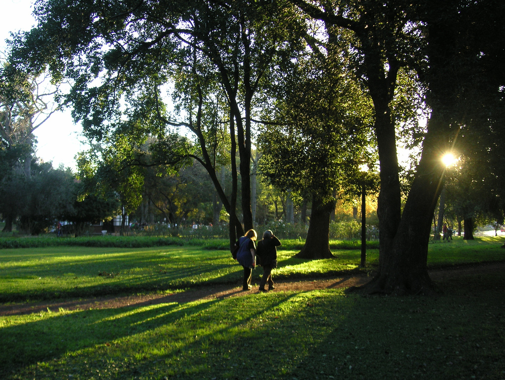 Walking in the park by blmurch, on Flickr
