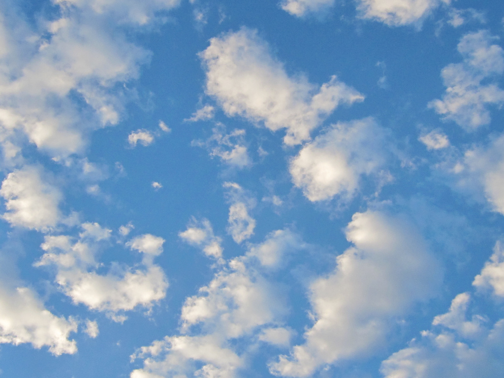 Blue Sky with Clouds by shaire productions, on Flickr