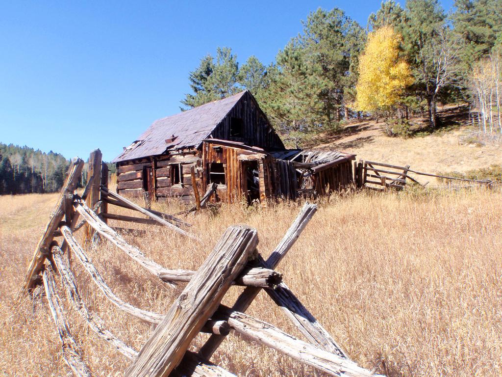 Old Run Down Farm by halseike, on Flickr