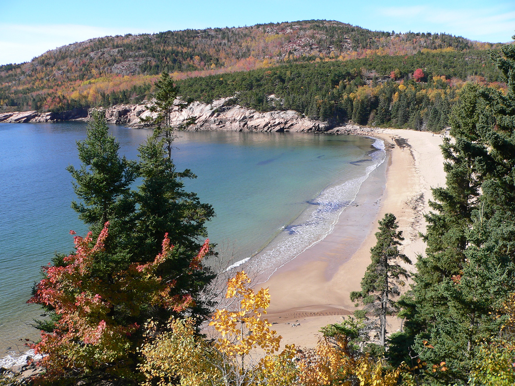 At Sand Beach, Acadia National Park by Lee Edwin Coursey, on Flickr