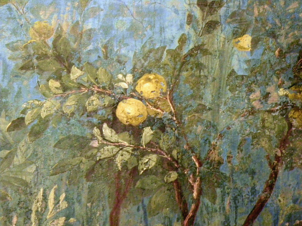 Quince tree-House of Livia Mural by Ian W Scott, on Flickr