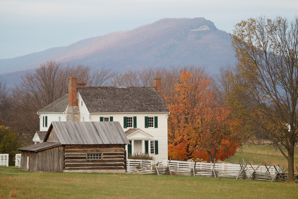 The Bushong Farm and Massanutten Mountai by Rob Shenk, on Flickr