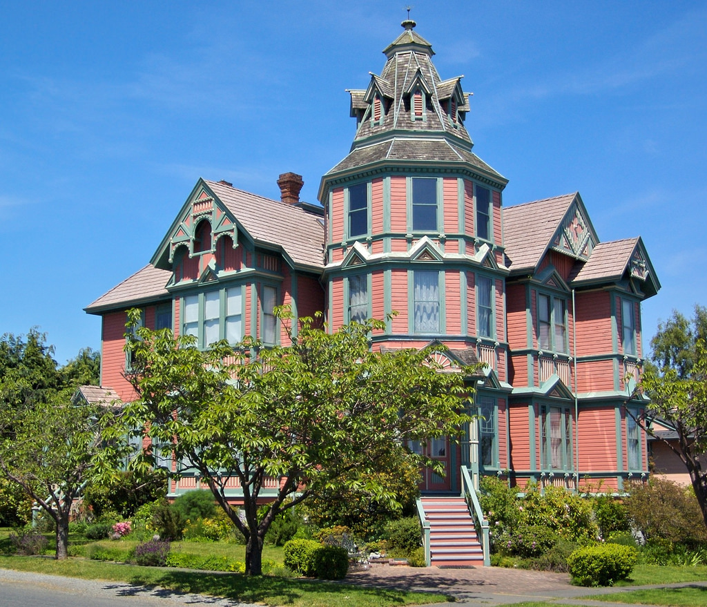 The Ann Starrett Mansion! Port Townsend, by A.Davey, on Flickr