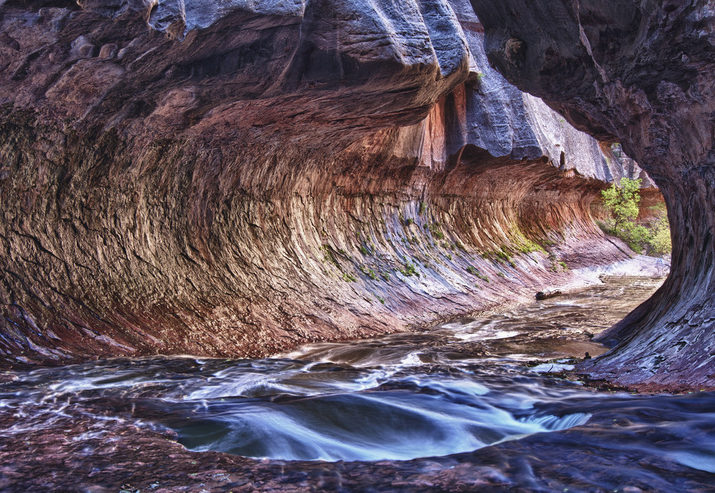 The Subway, Zion National Park by sufw, on Flickr
