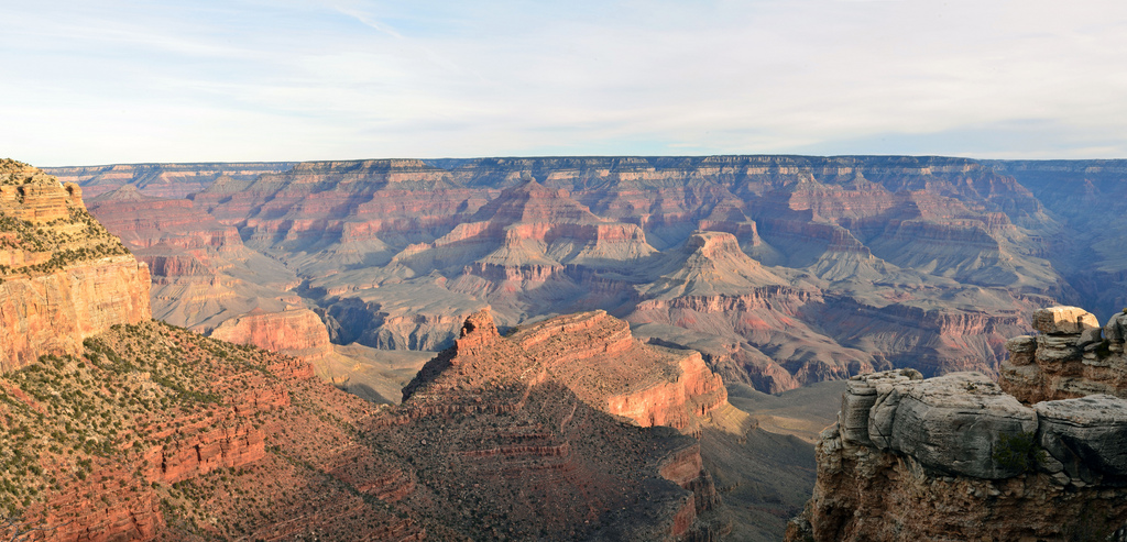 Grand Canyon from El Tovar Hotel 2011020 by Grand Canyon NPS, on Flickr