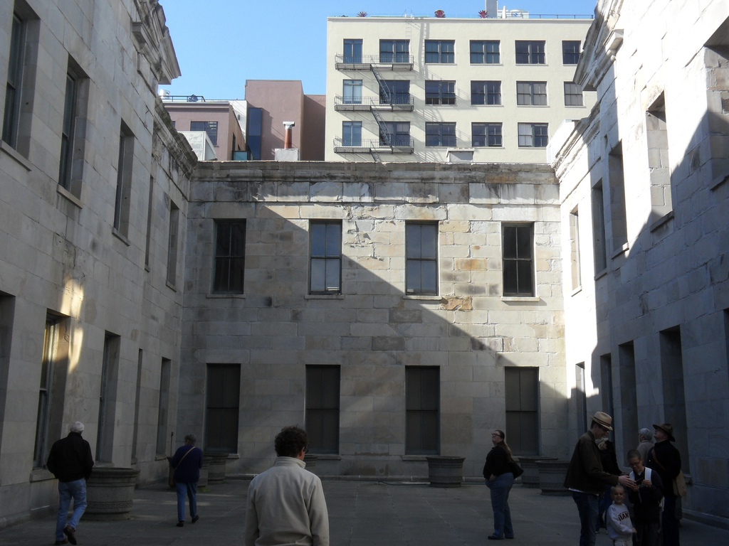 Courtyard of the Old San Francisco Mint by Eric Fischer, on Flickr