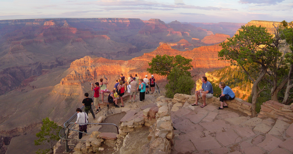 Grand Canyon NP sunset from Yavapai Poin by Grand Canyon NPS, on Flickr