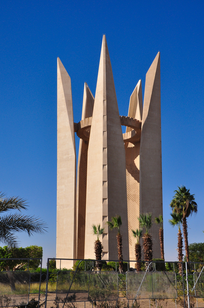 The Lotus Flower Tower, Aswan, Egypt by courtney_80, on Flickr