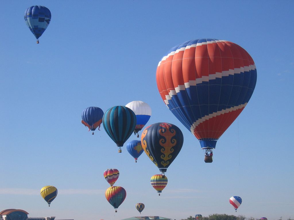Denver Broncos hot air balloon by bugeaters, on Flickr