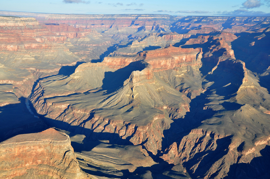 Grand Canyon DEIS Aerial: Geikie Peak, S by Grand Canyon NPS, on Flickr