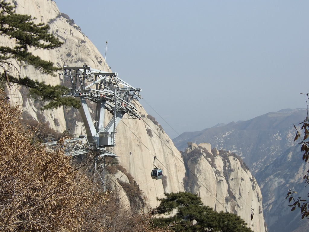 Xian Huashan Mountains by chinaoffseason, on Flickr