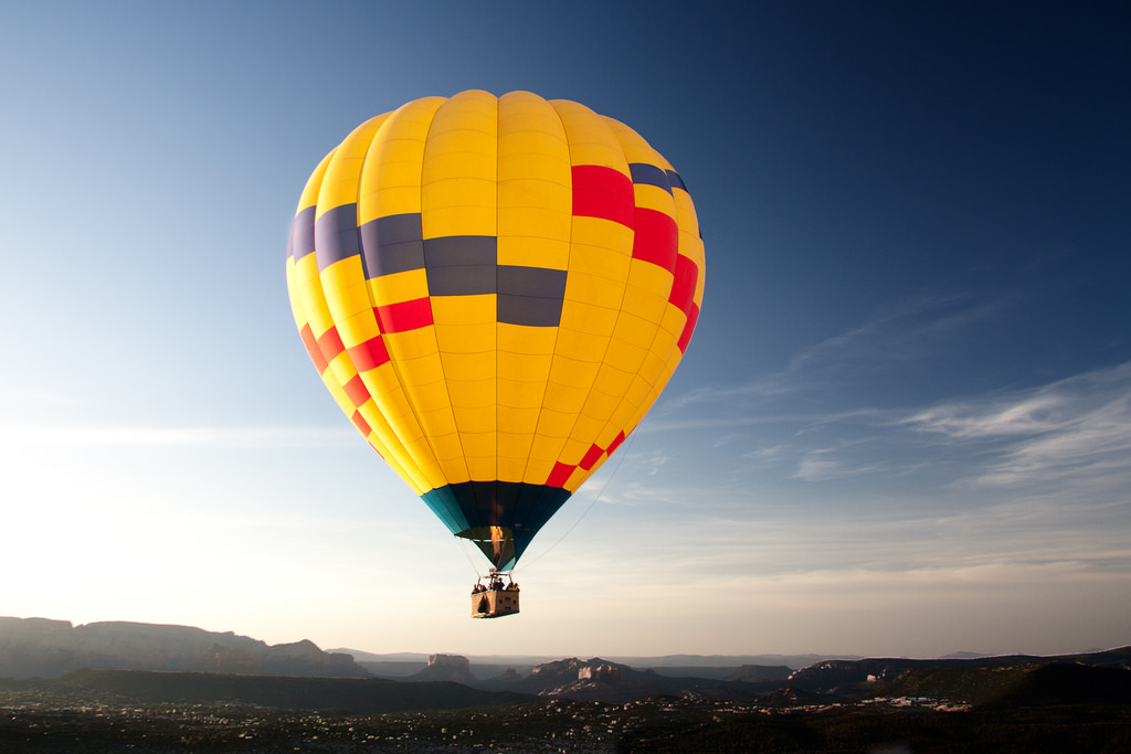 Sedona Hot Air Balloon Ride by Thales, on Flickr