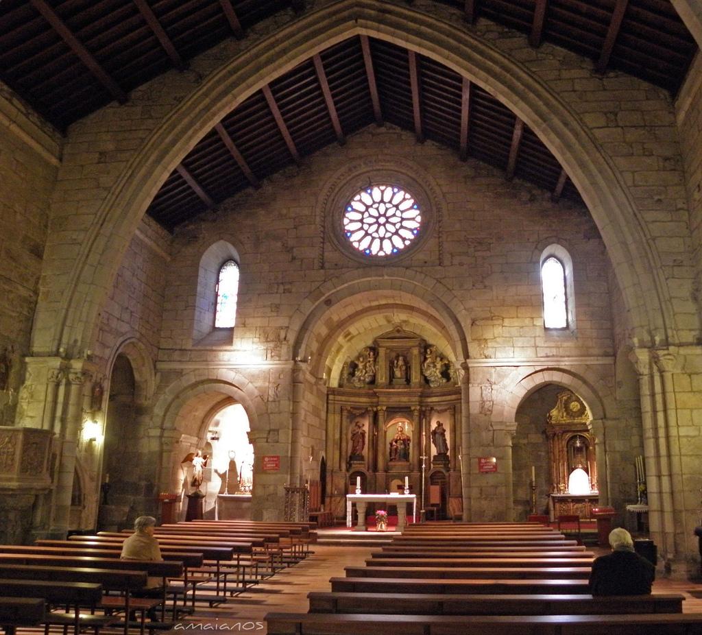 Iglesia de Santiago, A Coruña by amaianos, on Flickr