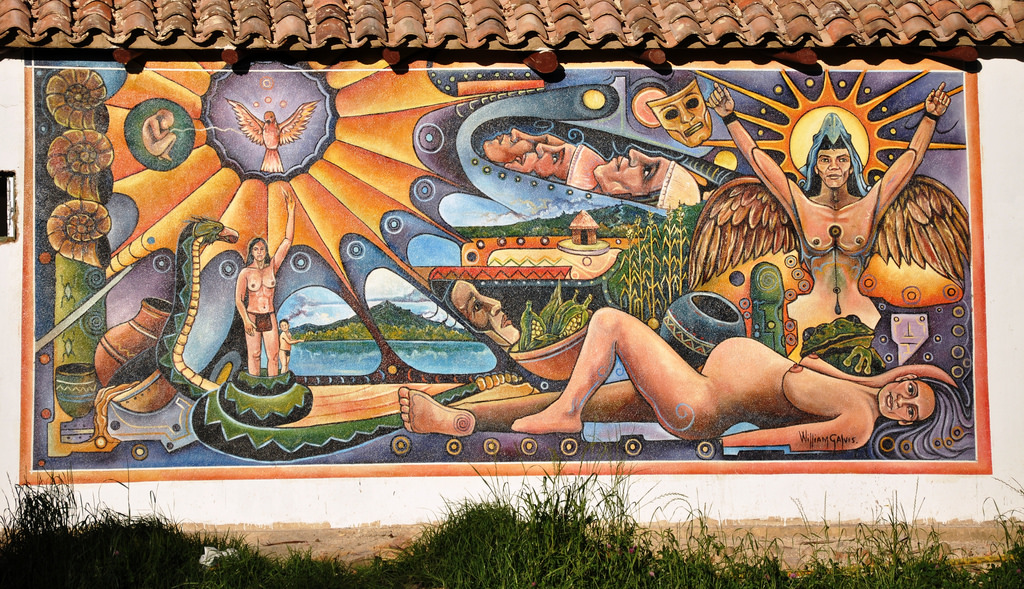 Mural Painting at the Museo Arqueologico by momentcaptured1, on Flickr