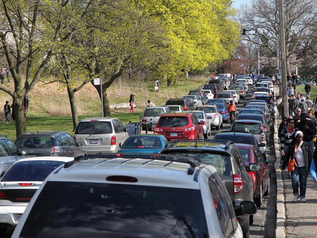 High Park traffic jam by nayukim, on Flickr