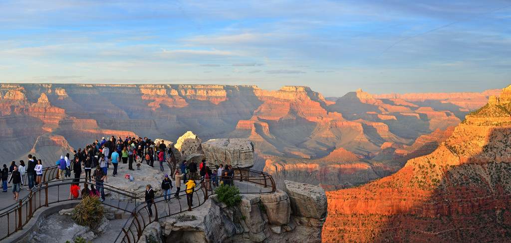 Grand Canyon Mather Point Sunset 2011_41 by Grand Canyon NPS, on Flickr