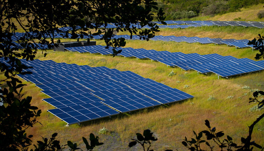 Solar Farm by mcmees24, on Flickr