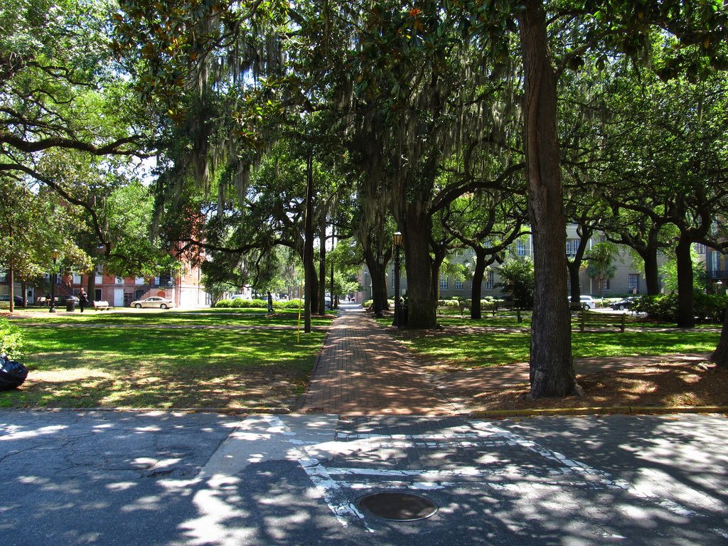 Oglethorpe Square, Savannah, Georgia by Ken Lund, on Flickr