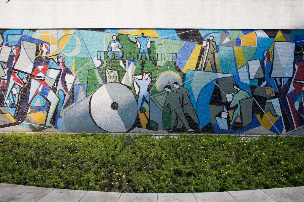 Mural no Hotel Jaraguá, Emiliano Di Cav by Arte Fora do Museu, on Flickr