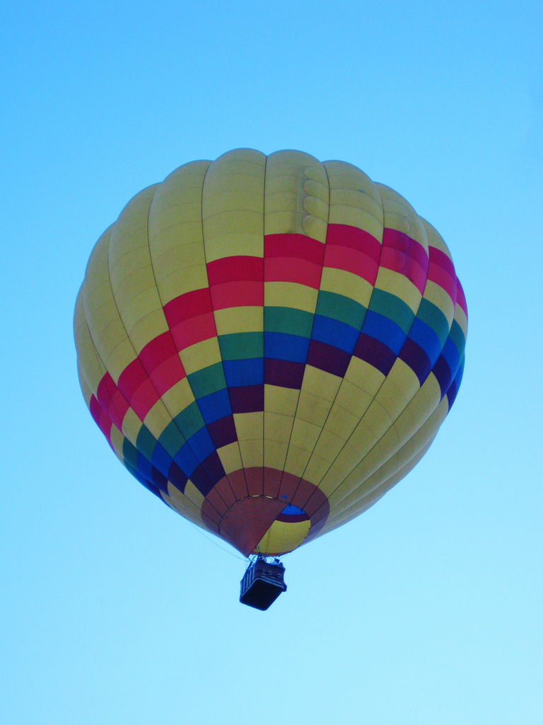 Hot air balloon by Wildcat Dunny, on Flickr