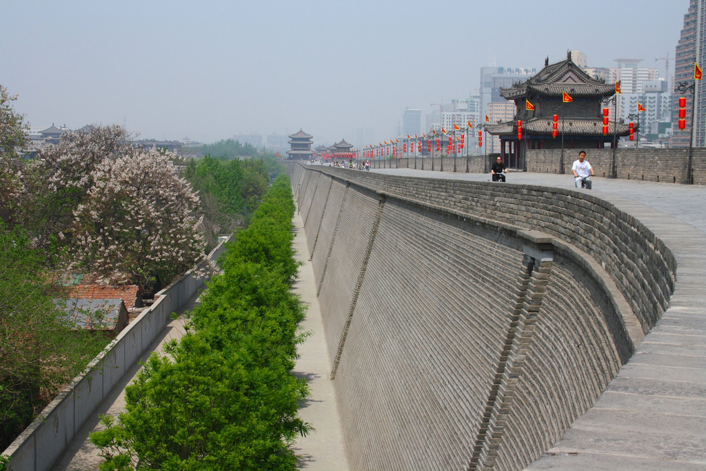 xian city walls by Grey World, on Flickr