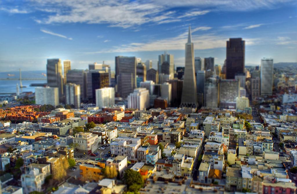 San Francisco Tilt and Shift HDR by mtlockca, on Flickr