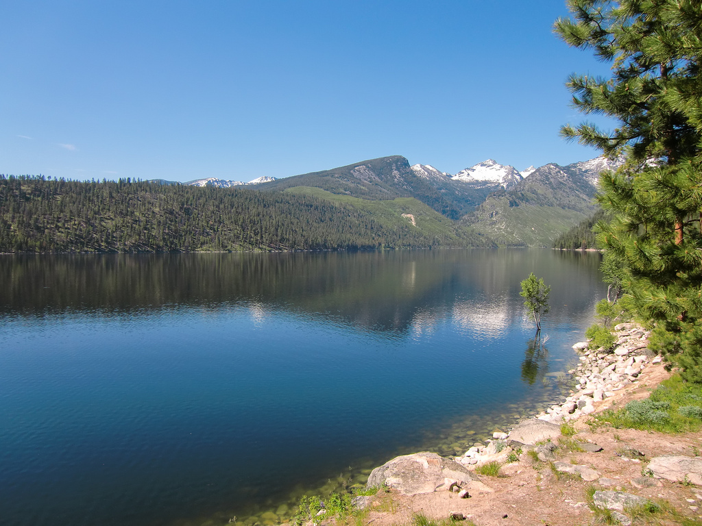 Lake Como view from Wood's Cabin by Forest Service - Northern Region, on Flickr