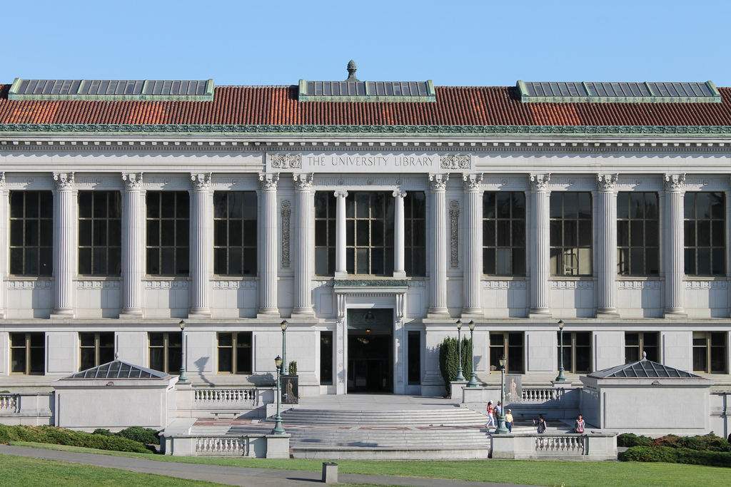 Front of Doe Library, UC Berkeley by K.Oliver, on Flickr