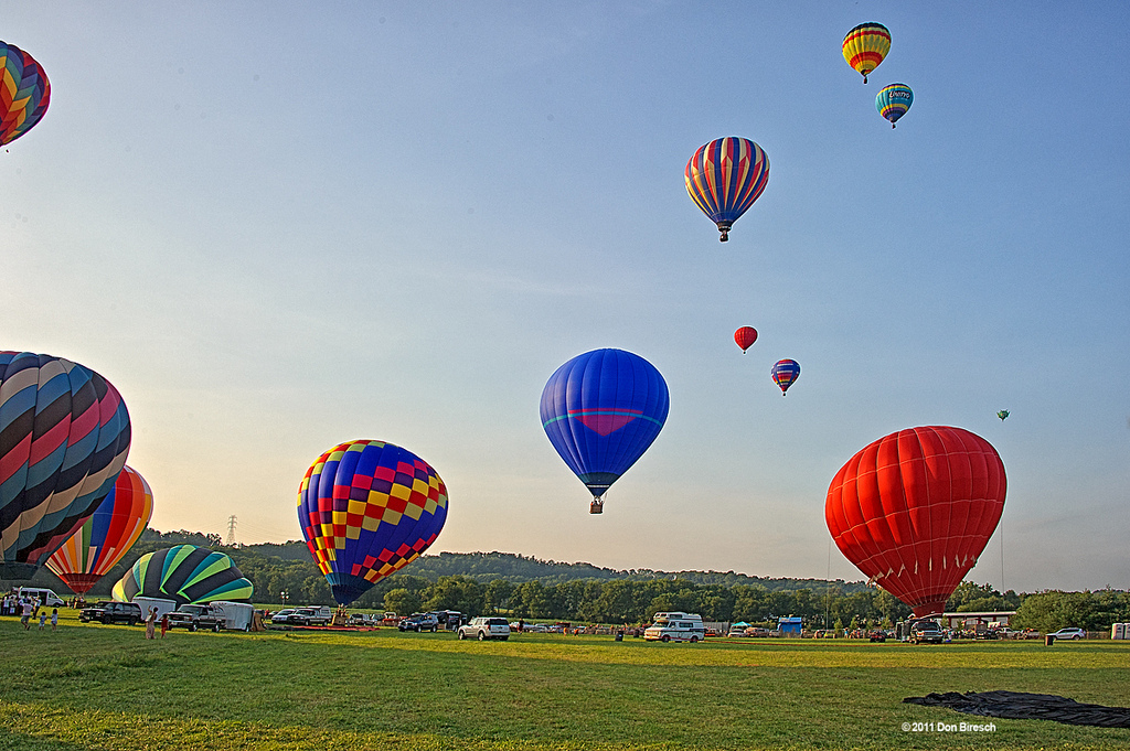 Hot Air Balloon Fest Uniontown, NJ by dfbphotos, on Flickr