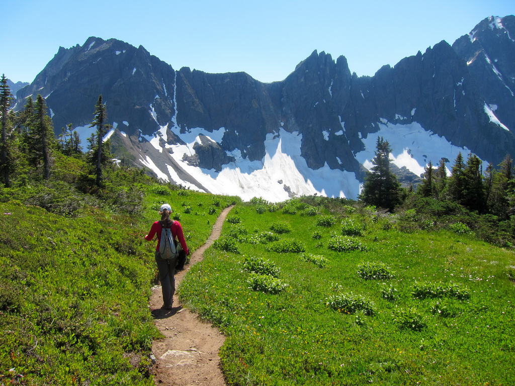 Sahale Arm Trail by MiguelVieira, on Flickr