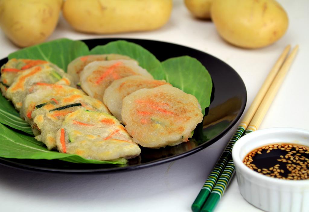 Korean potato pancake[Gamja Jeon] by KFoodaddict, on Flickr