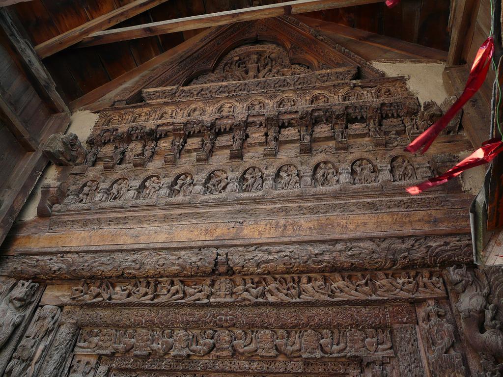 Lakshana Devi temple doorway by varunshiv, on Flickr