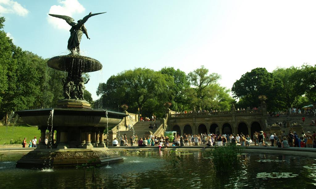 Central Park Bethesda Fountain by aherrero, on Flickr