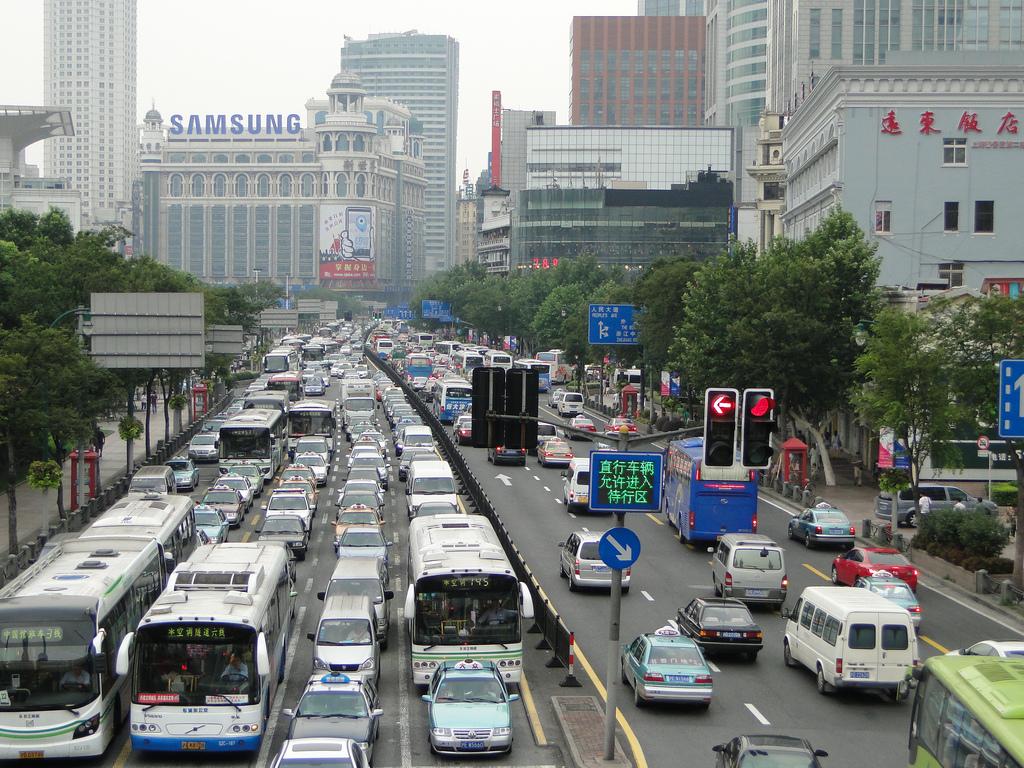 Shanghai traffic congestion by dimitris.argyris, on Flickr
