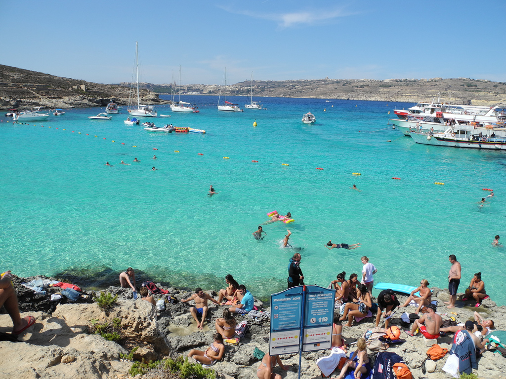 Blue Lagoon, Comino, Malta by Shepard4711, on Flickr