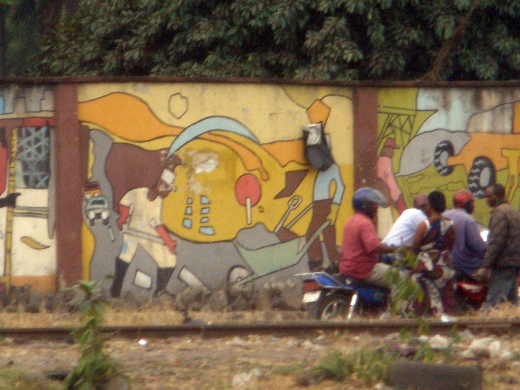 Roadside mural in Nigeria by crashdburnd, on Flickr