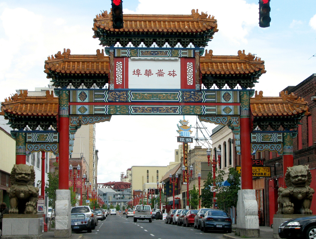 Portland China Gate by Noël Zia Lee, on Flickr
