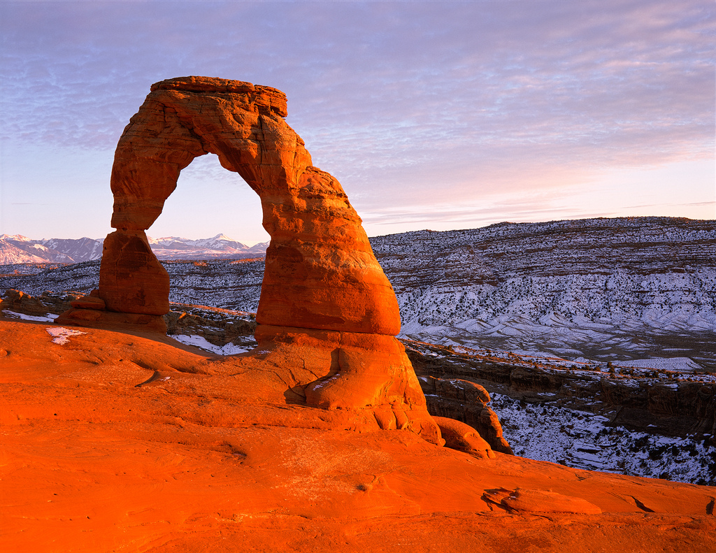 Delicate Arch by ArchesNPS, on Flickr