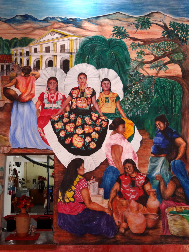 Mural of Zapotec Women and Indigenous Dr by Adam Jones, Ph.D. - Global Photo Archive, on Flickr