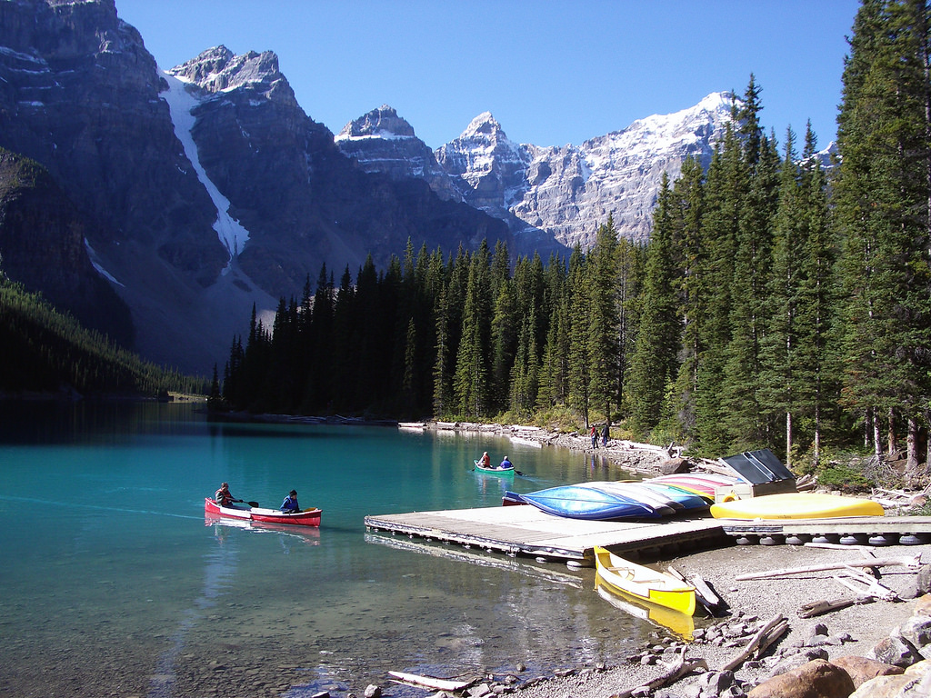 Banff National Park:  Moraine Lake at Ju by Redeo, on Flickr